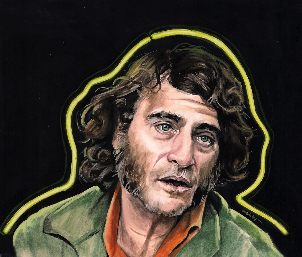 Inherent Vice (2014) | art by Brianna Ashby