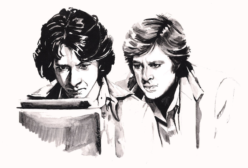 All the President's Men (1976) | art by Brianna Ashby