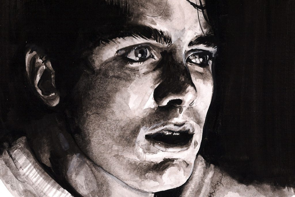 The Assassination of Jesse James by the Coward Robert Ford | art by Brianna Ashby