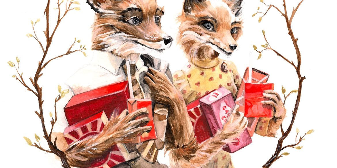 Fantastic Mr. Fox | art by Brianna Ashby
