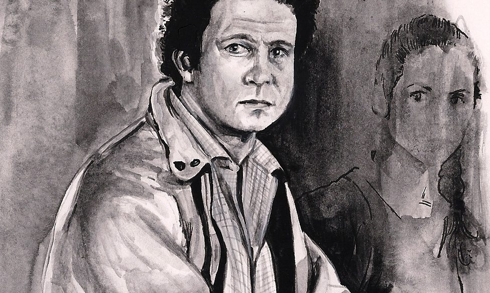 Albert Brooks in LOST IN AMERICA | art by Brianna Ashby