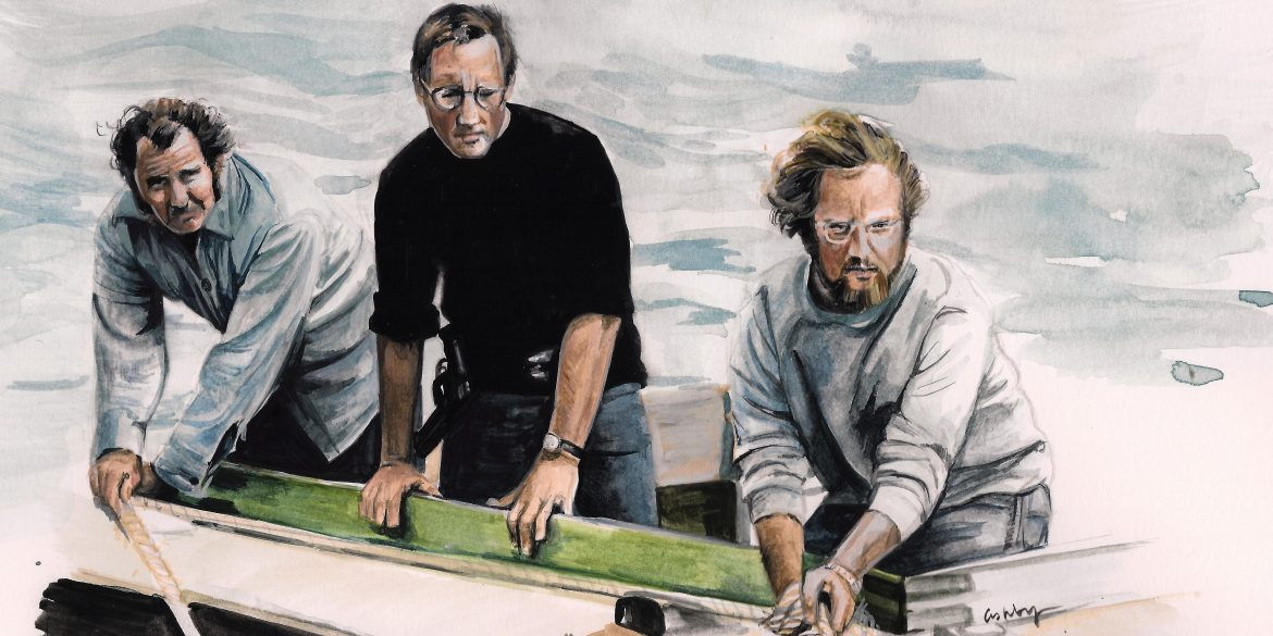 Jaws (1975) | art by Brianna Ashby