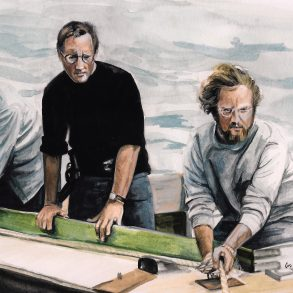 Jaws (1975)   art by Brianna Ashby