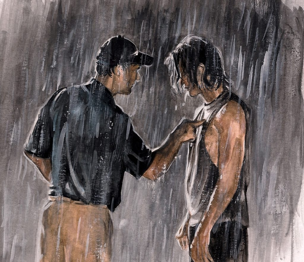 Friday Night Lights | art by Brianna Ashby