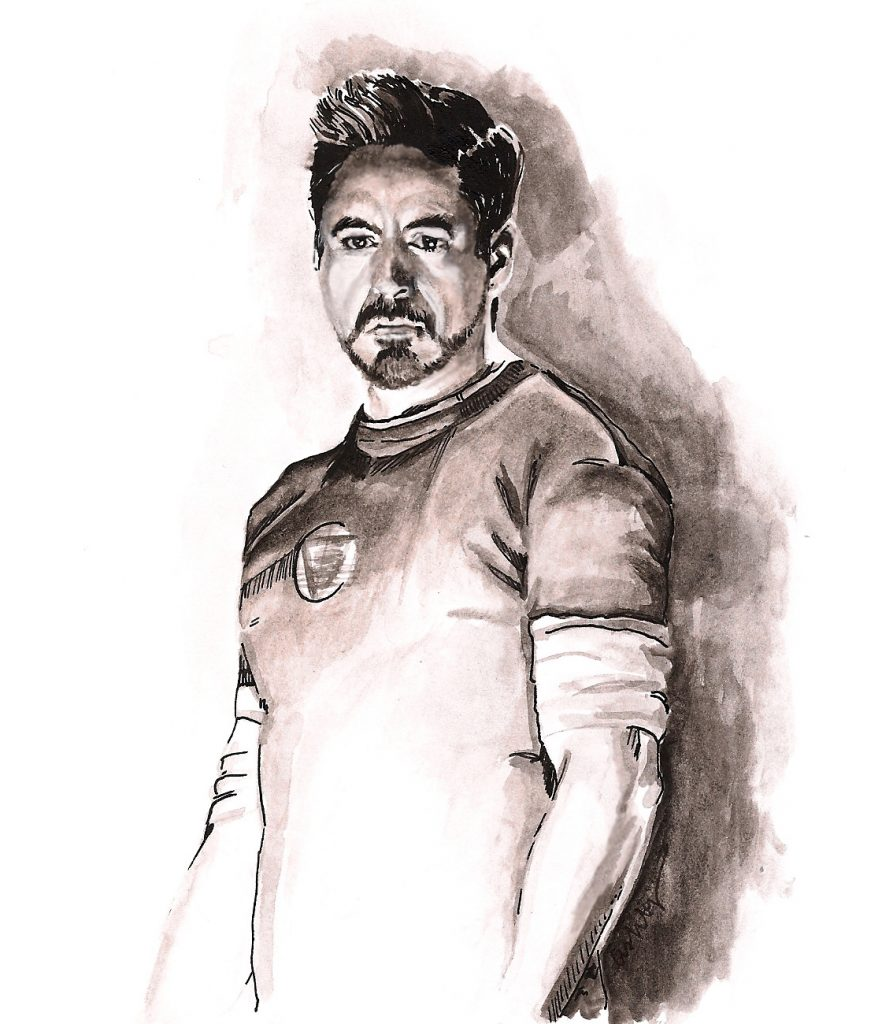 Iron Man 3 | art by Brianna Ashby