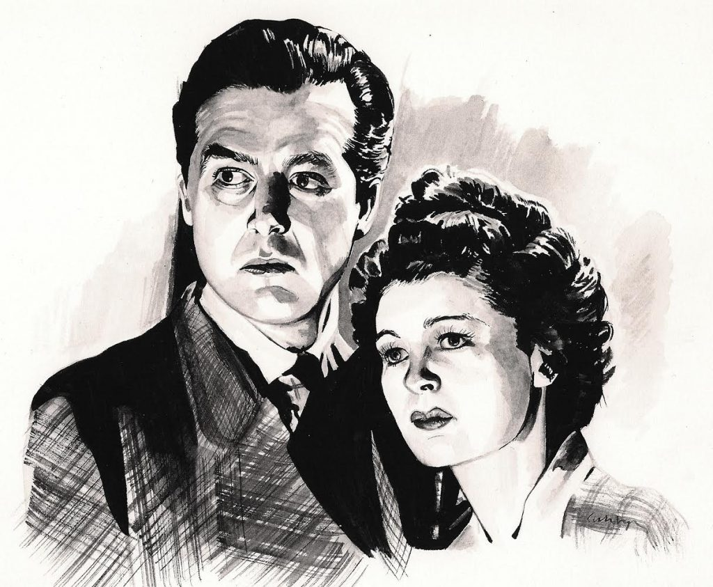The Uninvited (1944) | illustration by Brianna Ashby