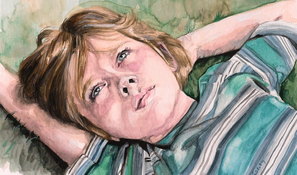 Boyhood   art by Brianna Ashby