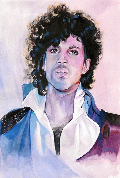 Prince | art by Brianna Ashby