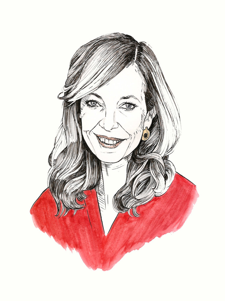 Allison Janney | artwork by Brianna Ashby