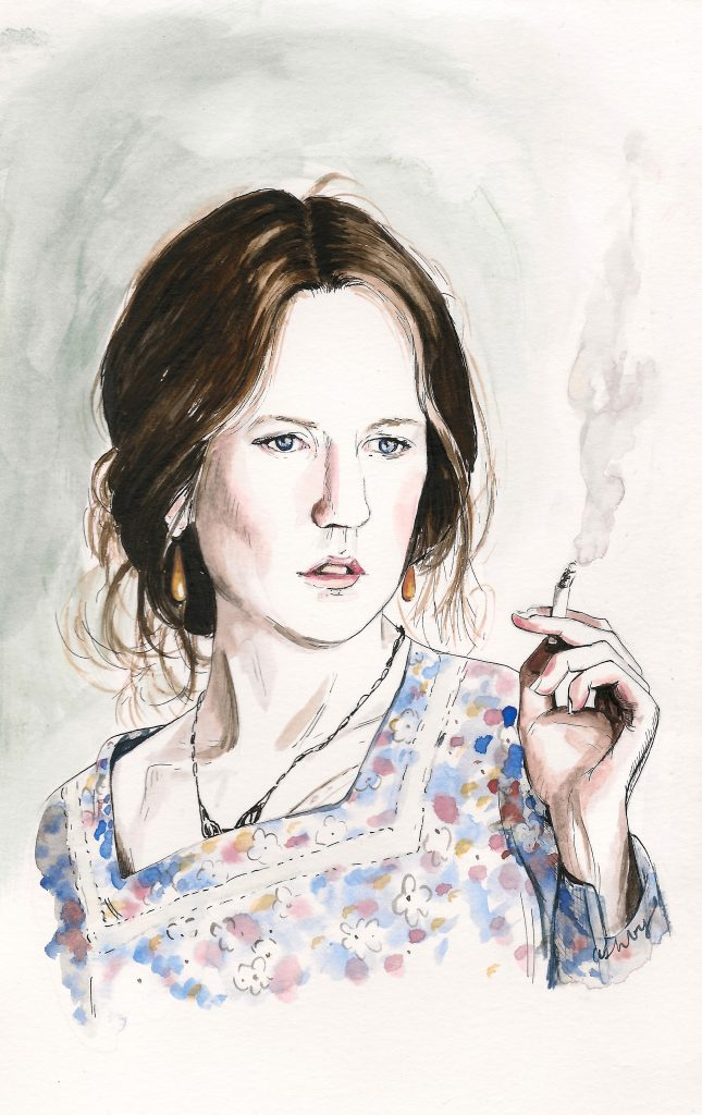 The Hours (2002)   art by Brianna Ashby