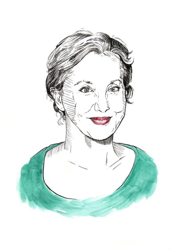 J. Smith-Cameron on Margaret (2011) | art by Brianna Ashby