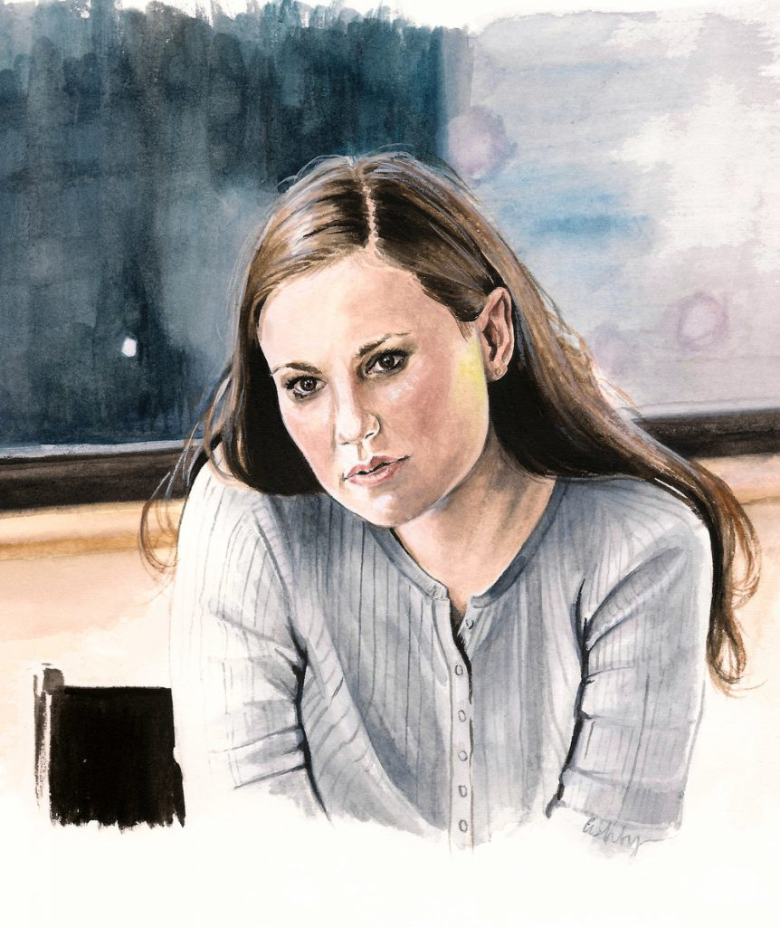 Anna Paquin in MARGARET | art by Brianna Ashby