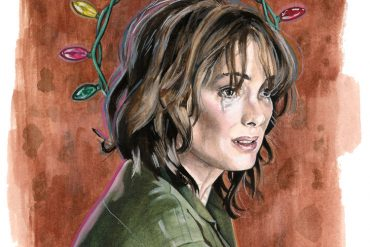Winona Ryder in Stranger Things | art by Brianna Ashby