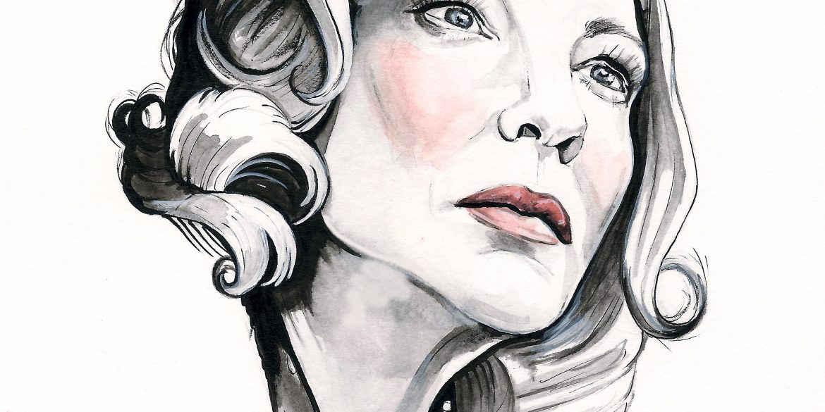 Cate Blanchett in CAROL | art by Brianna Ashby