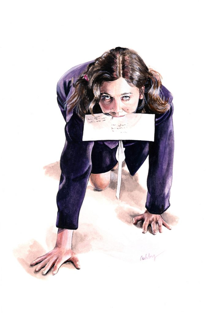 Secretary | art by Brianna Ashby