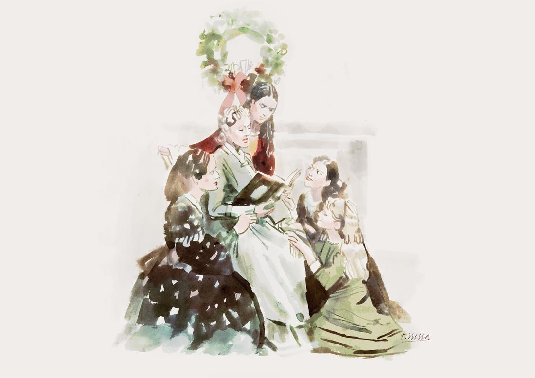 Little Women (1992) | art by Tony Stella