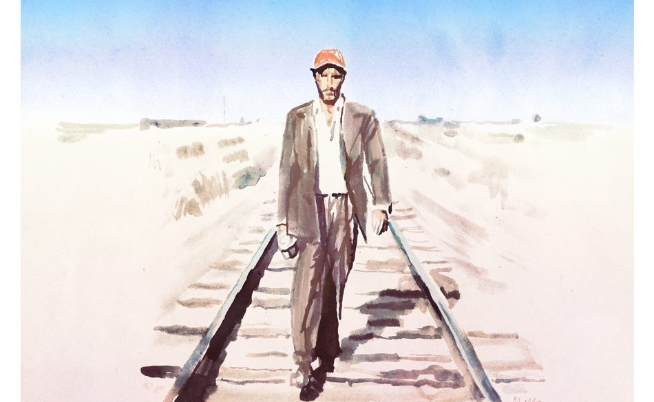 Paris, Texas | art by Tony Stella