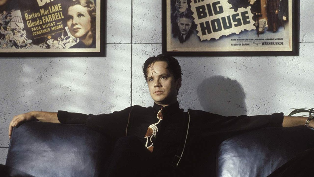 Tim Robbins in THE PLAYER   New Line Cinema