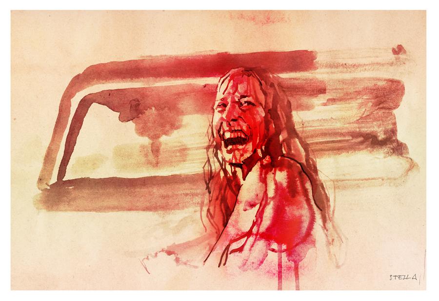 The Texas Chain Saw Massacre   art by Tony Stella
