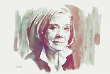 Liv Ullman | art by Tony Stella