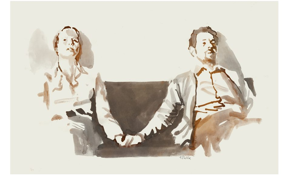 Scenes from a Marriage | art by Tony Stella