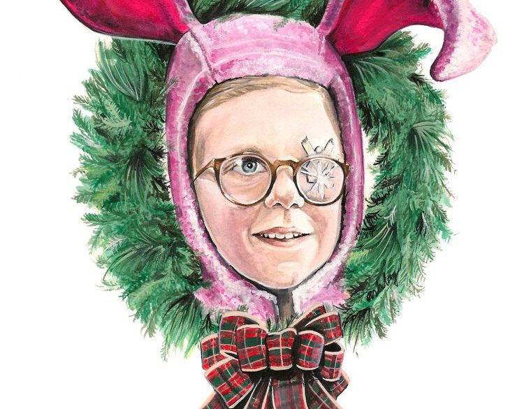 A Christmas Story | art by Brianna Ashby