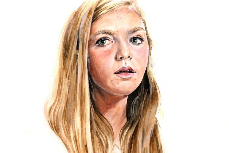 Eighth Grade (2018)   art by Brianna Ashby