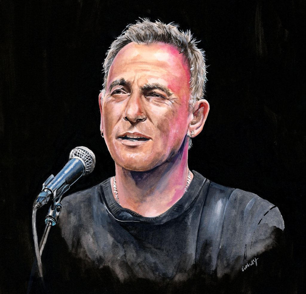 Springsteen on Broadway (2018) | artwork by Brianna Ashby