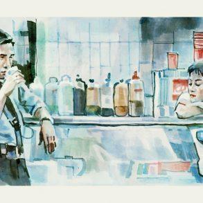 Chungking Express (1994) | art by Tony Stella