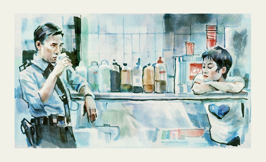 Chungking Express (1994) | art by Tony Stella