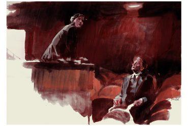 Three Colors: Red (1994)   art by Tony Stella