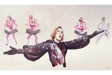 Julie Andrews in Star! | art by Tony Stella
