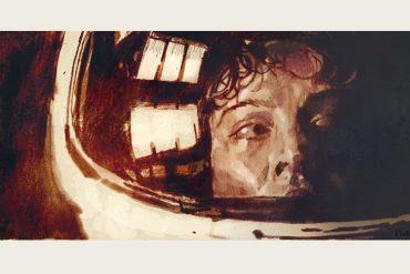 Alien (1979)   artwork by Tony Stella