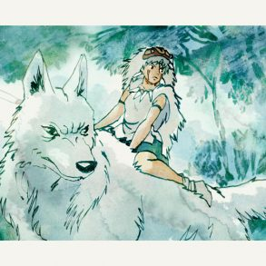 Princess Mononoke | Hayao Miyazaki | art by Tony Stella