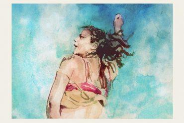 Sasha Lane in AMERICAN HONEY   art by Tony Stella