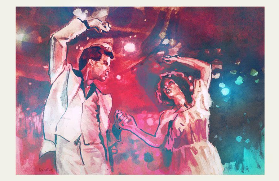 Saturday Night Fever | art by Tony Stella