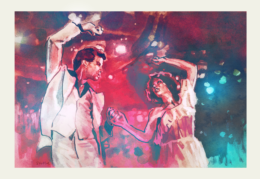 Saturday Night Fever   art by Tony Stella