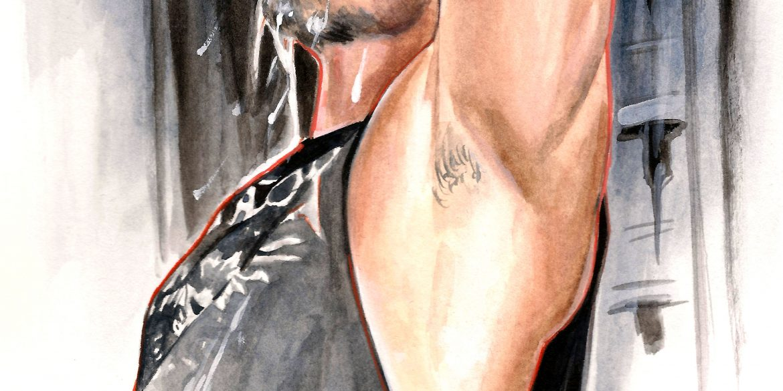 Magic Mike XXL | art by Brianna Ashby
