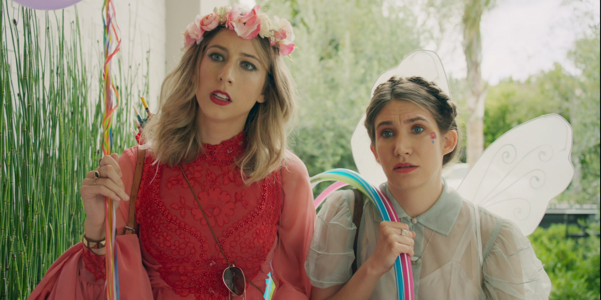 Jessie Barr and Lena Hudson in 'Too Long at the Fair' (2018)