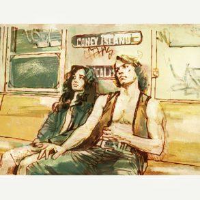 The Warriors (1979) | art by Tony Stella