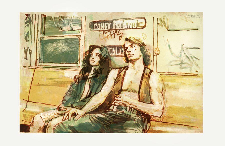 The Warriors (1979)   art by Tony Stella