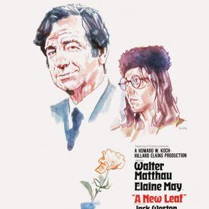 A New Leaf (1971)   poster by Tony Stella