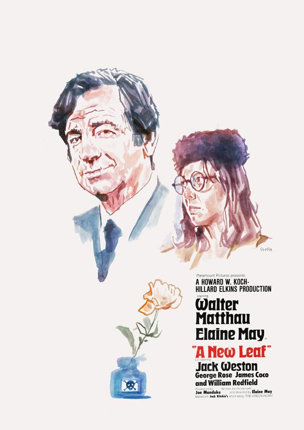 A New Leaf (1971) | poster by Tony Stella