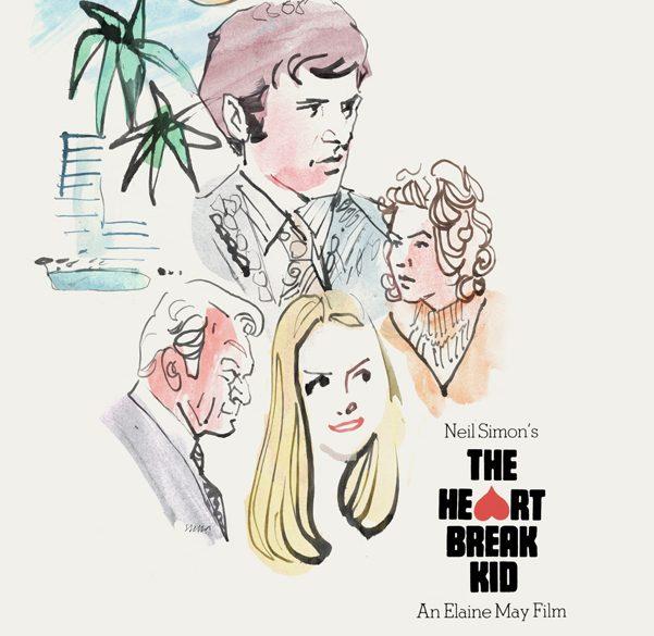 The Heartbreak Kid (1972) | poster art by Tony Stella