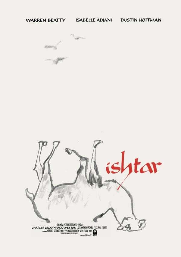 Elaine May's ISHTAR (1987) | original poster by Tony Stella