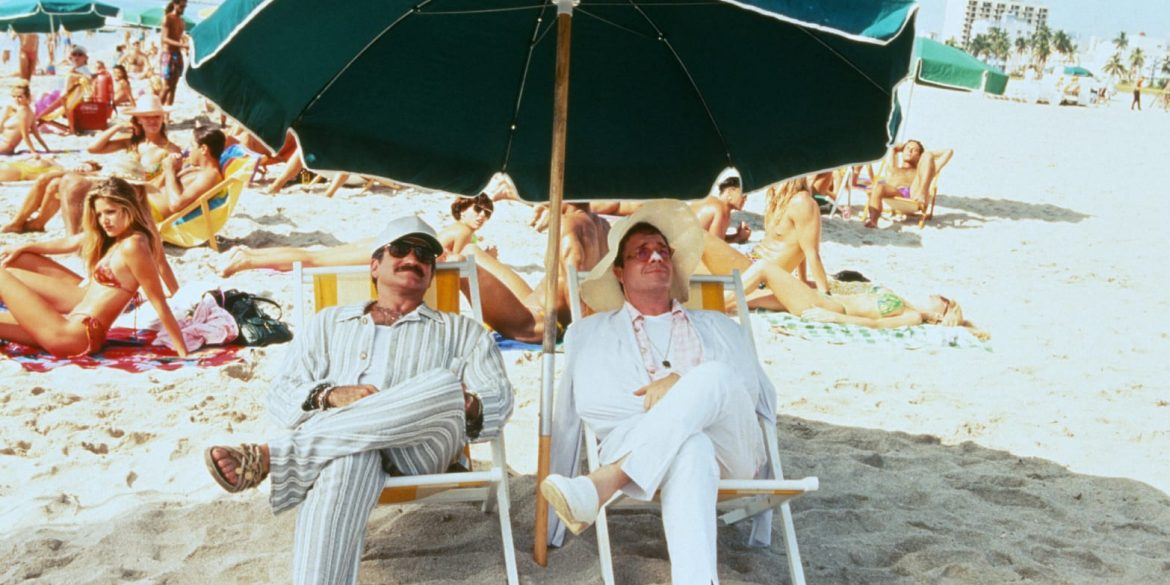 Robin Williams and Nathan Lane in THE BIRDCAGE | MGM