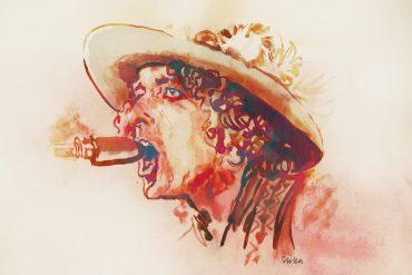 Bob Dylan | art by Tony Stella