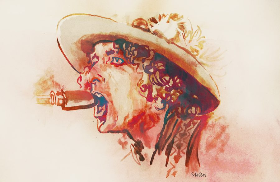 Bob Dylan | art by Tony Stella