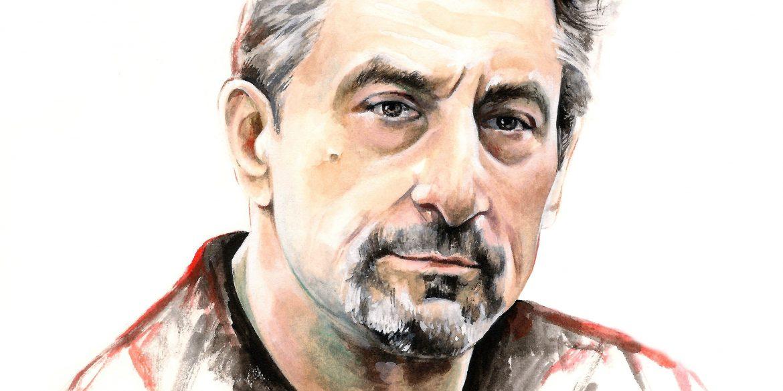 Robert De Niro | art by Brianna Ashby