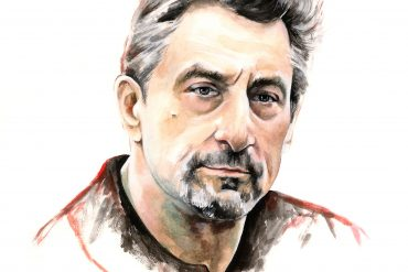 Robert De Niro | art by Brianna Ashby